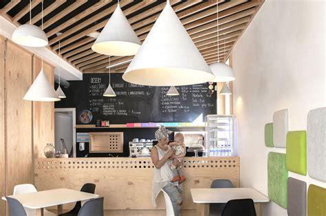 draw   walls   coffee shop designed