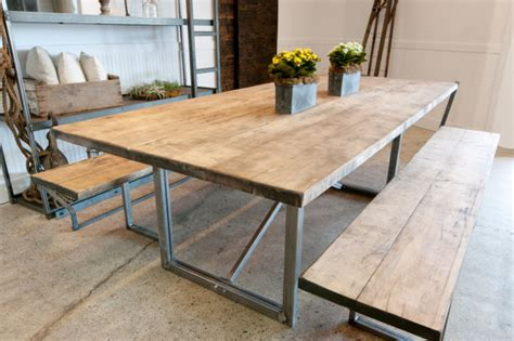 faire une cuisine am駻icaine items similar to rustic solid maple wood rustic farm table