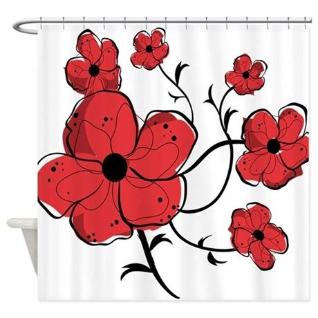 red and black floral curtains 1000 images about black white red all over on pinterest