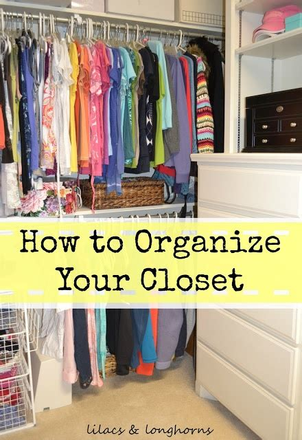how to organize your bedroom closet how to organize your closet helpful hints pinterest