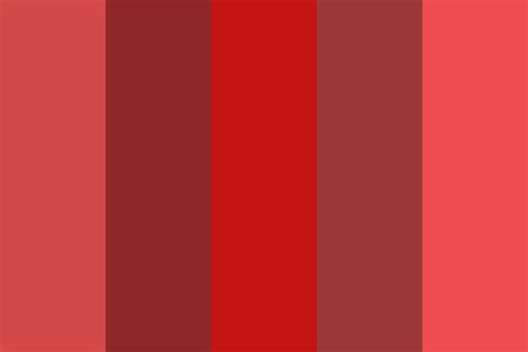 blood color period blood color palette