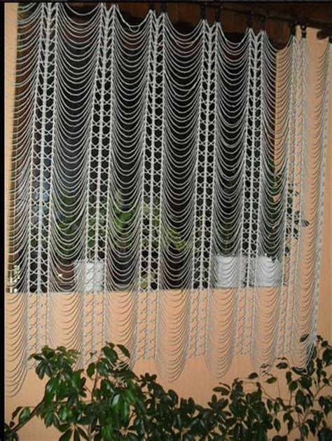 homemade curtain patterns crochet beauty and easy curtain crochet pattern make
