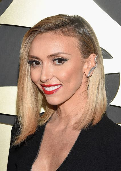 guiliana rancic bob picture giuliana rancic s angled bob and red lips best beauty at
