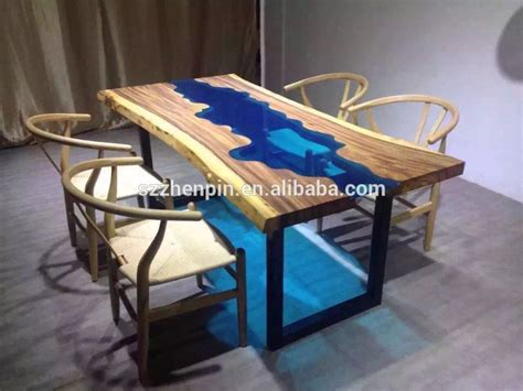 wooden extendable table with granite in lays for sale in solid wood dining table glass inlaid dinning table raw