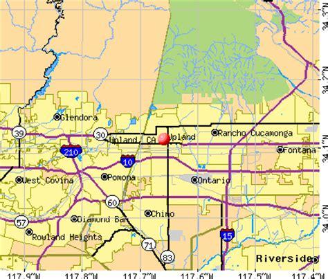 zip code map upland ca upland california ca 91786 profile population maps