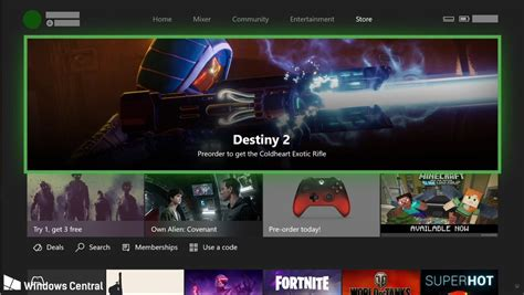xbox one home layout change xbox one dashboard is getting a fluent design overhaul