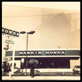 Hardin Honda Service by History Of Hardin Honda