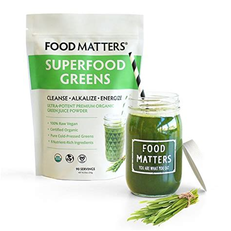 Food Matters Liver Detox by Food Matters Superfood Greens World Wide Health Essentials