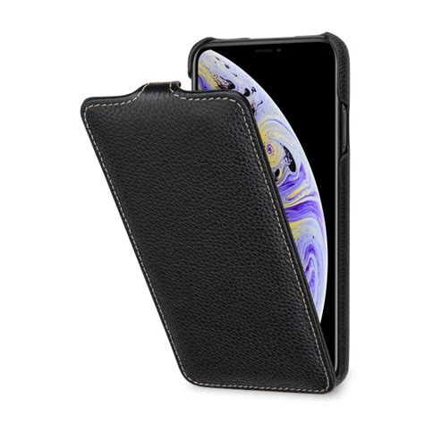 iphone xs max ultraslim made of high quality leather stilgut