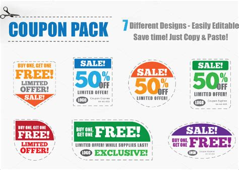 43 Printable Coupon Design Templates To Download Sle Templates Coupon Design Template