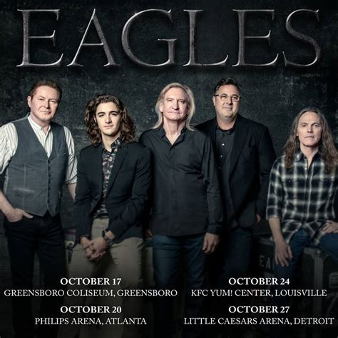 Eagles Announce New October 'An Evening With...' Gigs ...