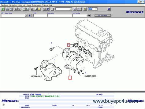 electric and cars manual 2003 kia sorento spare parts catalogs microcat kia 2014 electronic parts manual