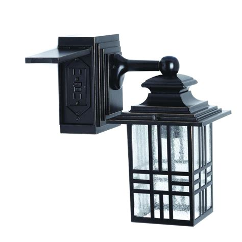 outdoor wall l with outlet wall light with outlet warisan lighting plus outdoor