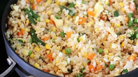 vegetables and rice vegetable fried rice recipe tablespoon