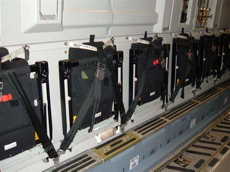 airplane jump seat dimensions file c 17 seats jpg wikimedia commons