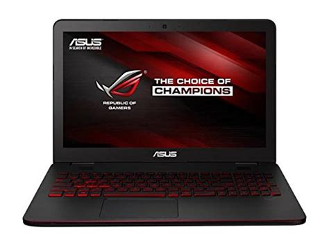 Asus Rog Laptop Ddr4 asus rog 15 6 inch gaming laptop intel i5 6300hq 8gb ddr4 ram 1tb hdd 7200 rpm nvidia