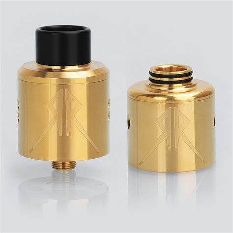 The Recoil Rebel Rda 25mm By Grimm Green Authentic 1 grimm green x ohmboyoc recoil rebel rda gold 25mm atomizer