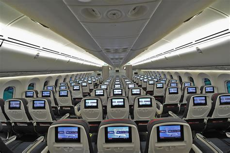 Interior Air by Air Canada Debuts New International Cabin Interiors With