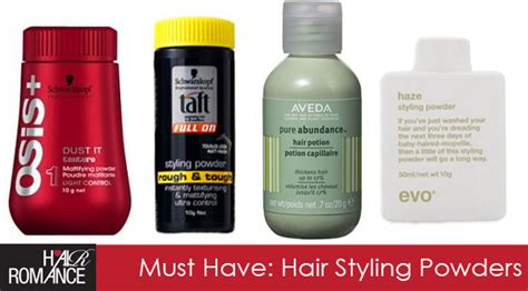 must have hair must have hair product styling powders hair romance