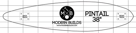 longboard template maker modern builds diy genius mike montgomery