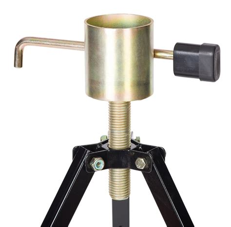 Tripod Stabilizer 5th fifth wheel cer trailer rv king pin tripod stabilizer locking stand ebay