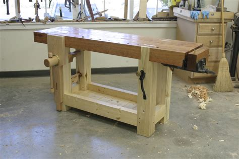 making a woodworking bench pdf diy roubo workbench plans free download rustic wooden