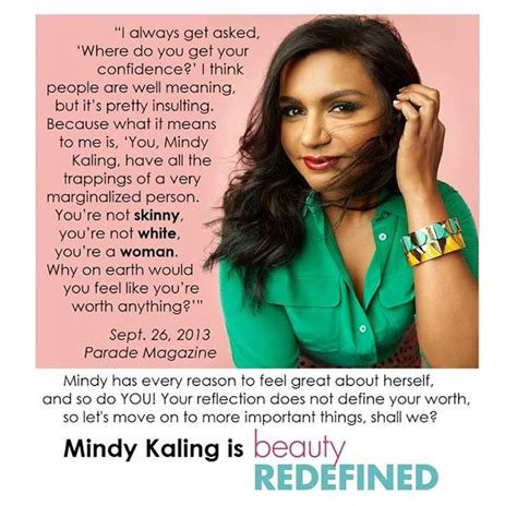 mindy kaling feminist quotes a celebrity translates the 1 question reporters won t stop