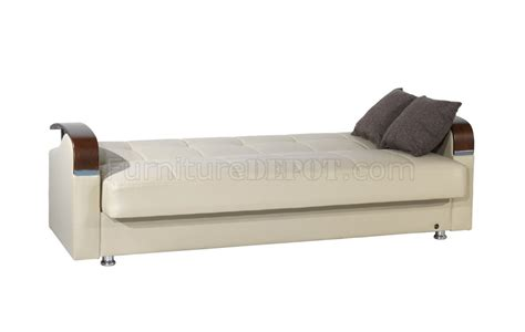 bonded leather sofa bed soho sofa bed in beige bonded leather by rain w optional items