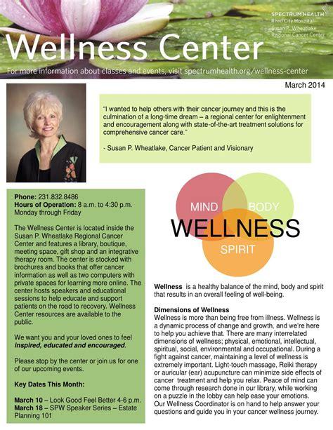 march wellness center calendar  spectrum health big rapids  reed city hospitals issuu