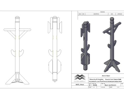 Armor Rack by Portable Armor Suit Stand By Trappermitch On Deviantart