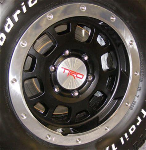 Toyota Beadlock Rims H 75175 Toyota Tacoma Trd Pro 16x8 Alternating 12 Slot