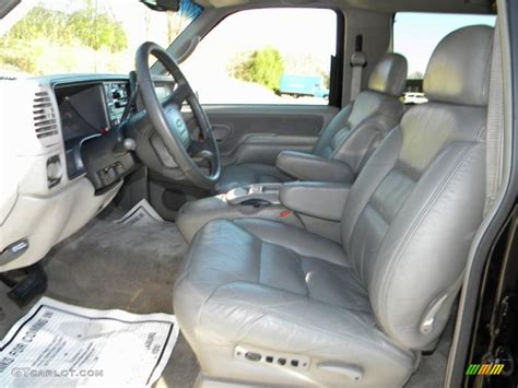 1998 Tahoe Interior by Pewter Interior 1997 Chevrolet Tahoe Lt 4x4 Photo