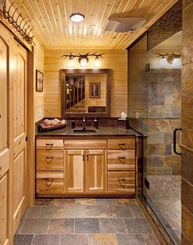log cabin bathroom ideas wowruler