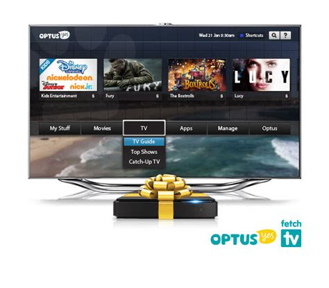 cable adsl2 optus tv with fetch broadband home phone