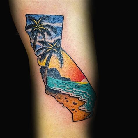 california state tattoos 100 california designs for pacific pride ink