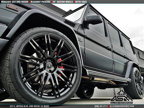 mercedes g wagon blacked out blacked out mercedes g63 amg g wagon blackout package