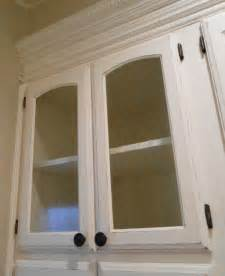 glass panel kitchen cabinet doors diy changing solid cabinet doors to glass inserts simply