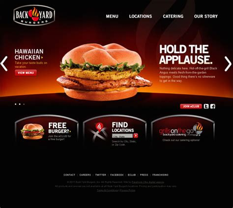 Web Design Inspiration Restaurant | 40 restaurant website design inspirations web3mantra