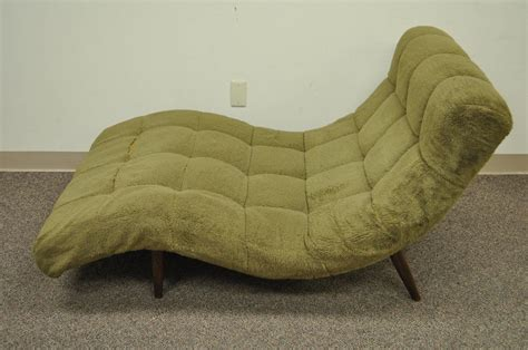wide chaise lounge chair midcentury modern double wide wave chaise lounge in the
