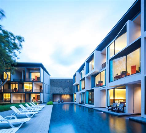 home architect top companies list in thailand idin architects sets lima duva as shifting cubes in thailand