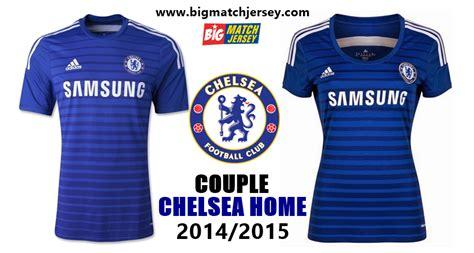 Kaos Bola Chelsea Ori jersey chelsea home 2014 2015 big match jersey