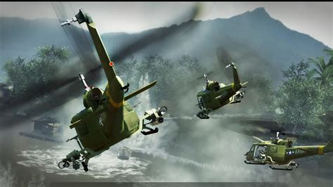 huey helicopters attack  wallpapers