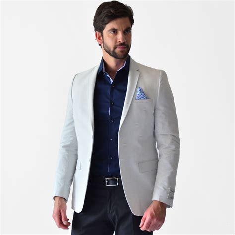 combinaciones con saco blanco de hombre saco casual hombre corte slim fit diferentes colores