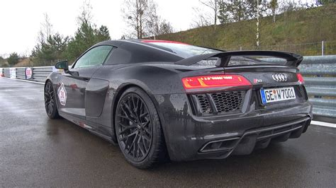 Audi R8 Auspuff by 2016 Audi R8 V10 Plus With Capristo Exhaust System Youtube