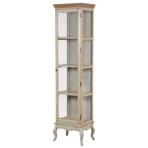 Glass Cabinet Vintage Look Glass Cabinet