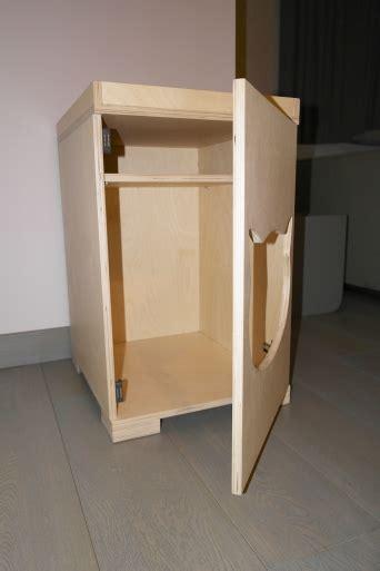 mobili lettiere per gatti mobili su misura per nascondere la lettiera gatto