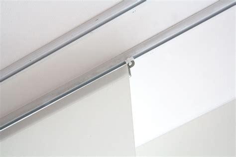 flachenvorhang normale gardinenschiene fl 228 chenvorhang blickdicht weiss 60cm 80cm 120cm breit