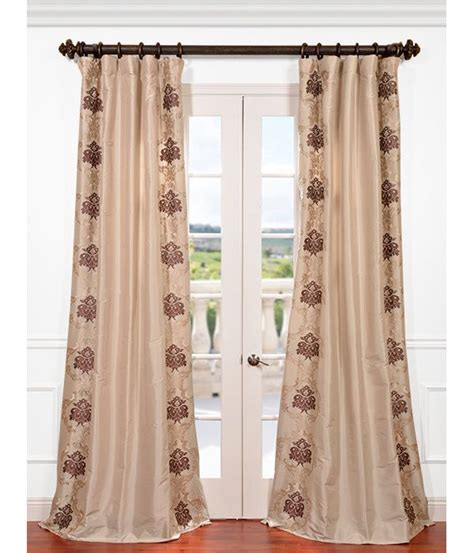 faux silk embroidered curtains 17 best ideas about faux silk curtains on pinterest