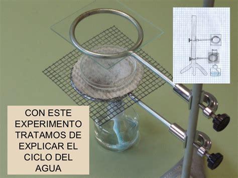 experimento agua con sal experimentos con el agua