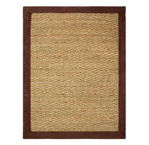 Kitchen Rugs Dubai Chesapeake Seagrass 5 Foot By 7 Foot Area Rug Chocolate